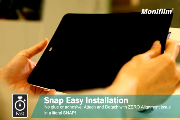 Computex Taipei 2018 : Snap to Hide Magnetoc Detachable Privacy Screen Protector will be expanding to other popular gadget and devices