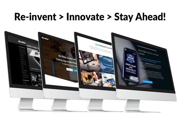 Monifilm Website Reinvention