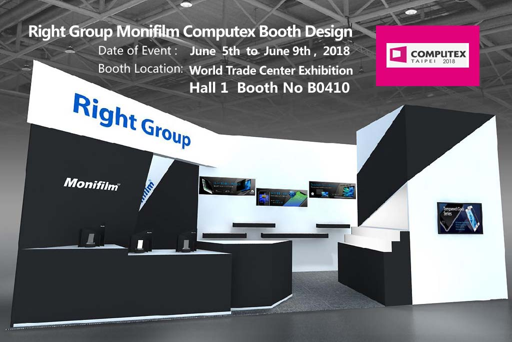 Computex Taipei 2018 : Right Group and Monifim Booth Design